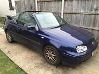 bargain vw golf automatic 2.0l power hood,leather,aircon,slight gearbox fault