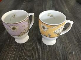 Wedgewood Floribunda Mugs