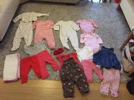 6-9 months baby girl bundle