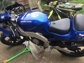 Apprilla RS 50 borred out to a 90cc , not running but good rebuild project also spare engine