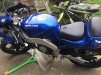 Apprilla 125cc not running but good rebuild project also spare engine