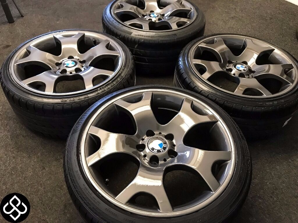 New 19 Quot Genuine Bmw Tiger Claw Alloys With Great Tyres 235