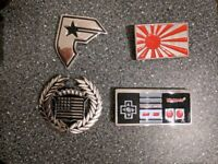 Belt buckles - Famous Stars and Straps, Nintendo