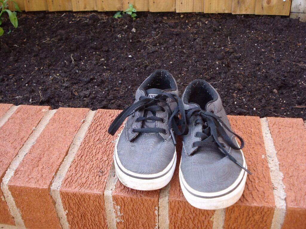 Grey Vans   Size 5