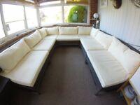 John Lewis Milan range garden sofa set