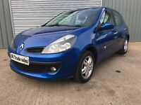 2007 RENAULT CLIO 1.4 DYNAMIQUE *** FULL YEARS MOT ***