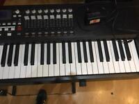 Akai MPK 88 midi controller keyboard