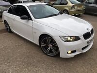 BMW 3 Series 3.0 330i M Sport 2dr Convertible Automatic, White, p/x considered 2008 (08 reg),