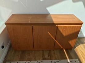 Skovby Teak Sideboard with Three Doors, Drawers and Shelf from Barker and Stonehouse