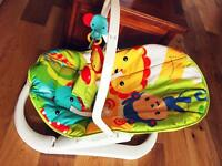 Brand new fisher price foldable baby bouncer