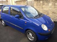 Daewoo matiz 2003 plate cat C sold as seen