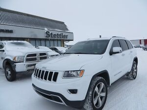 2015 Jeep Grand Cherokee LIMITED SUNROOF! EXTENDED WARRANTY!!