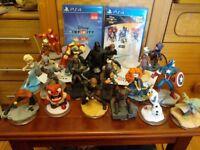 Disney Infinity PS4 bundle LOTS!