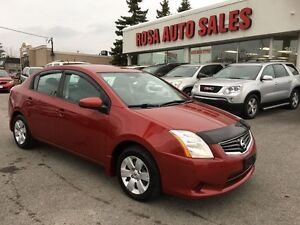 2010 Nissan Sentra AUTO 4 DR LOW KM NO ACCIDENT SAFETY ETEST