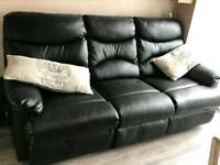 3 and 2 seater sofas