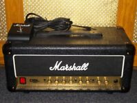 Marshall DSL15H 15W Valve Head with footswitch