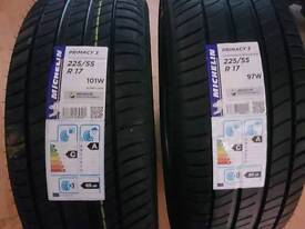 Michelin tyres x2