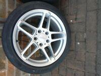 Set of 4 Genuine Ronal Ac Schnitzer alloy wheels