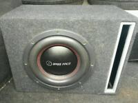 Bassface spl subwoofer mono amplifier loud powerfull bass competition spec unreal