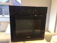 Bosch Serie 4 HBA13B160B Built In Electric Single Oven - Black