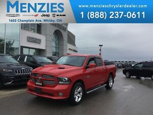 2013 Ram 1500 Sport, Bluetooth, 8.4 Display, Clean Carproof
