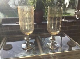 Two beautiful candle holders