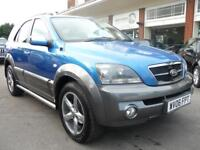 KIA SORENTO 2.5 XT CRDI 5d 139 BHP (blue) 2006