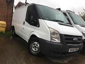 FORD TRANSIT 2.2 DIESEL, 58 PLATE, PRICED FOR QUICK SALE