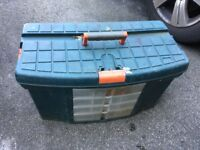 Large tool case box
