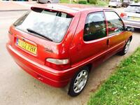 Saxo 1.0 8 month mot 12 month tax very reliable car lady owner £400