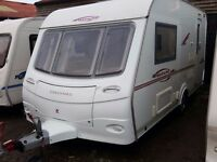 2007 Coachman Pastiche 420 2 Berth End Kitchen Caravan with Motor Mover