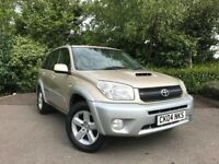2004 (04) Toyota RAV4 2.0 D-4D XT3 59,000 MILES IMMACULATE CONDITION 2 OWNERS NEW MOT LOW MILEAGE