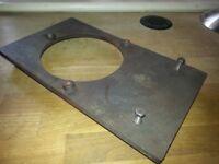 Oil Aga Burner Support Plate (108#)