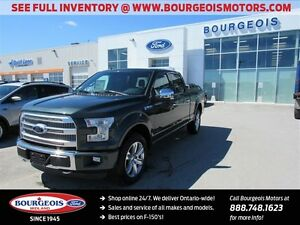 2015 Ford F-150 PLATINUM 4X4 GET 2.99% FINANCING UP TO 72 MONTHS