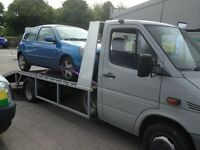 CAR BREAKDOWN ACCIDENT RECOVERY TRANSPORT COLLECTION DELIVERY SERVICE TOW TRUCK