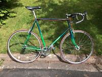 Single Speed Road Bike. Vintage Dawes XL 531 steel frame