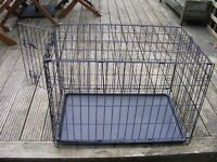 Small Dog/Animal cage that can be folded flat for storage.