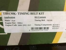 Audi vw timing belt kit with water pump