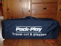 Travel Cot & Playpen, Mothercare Pack n Play