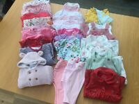 Baby girl clothes 3-6 months. Next and M and S