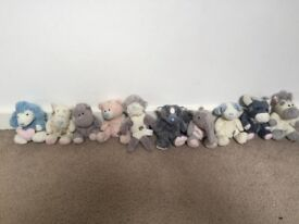 Bundle of 10 Blue Nose Friends-soft toys