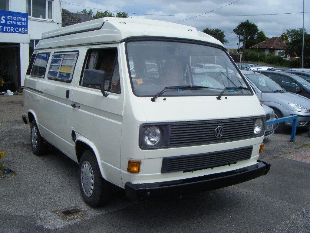 Vw Caravelle 78ps Campervan 1 9 Petrol 4 Berth 1985 In