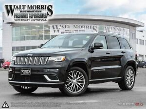 2017 Jeep Grand Cherokee SUMMIT: ONE OWNER & ACCIDENT FREE