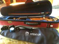 Stentor Student Violin - 4/4, barely used