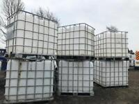 IBC ideal holding tanks or storage tanks