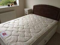 Coniston Comfort Airsprung 4ft 6 double mattress medium firmness fire retardant label attached