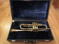 Vintage Zenith Mark 2 Brass Trumpet In Nice Condition