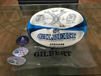 Brand new Gilbert Scotland 2004/05 official signature ball