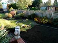 Garden landscaping fencing services