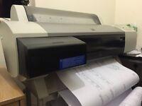 A1 Plotter & Stand - Epson Stylus PRO7000